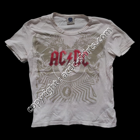 Shirt Europe AC/DC 2009 recto