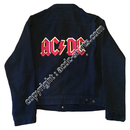 Shirt World AC/DC 1990-91 verso