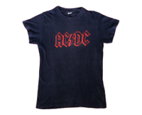 Shirt Europe AC/DC 1979-80